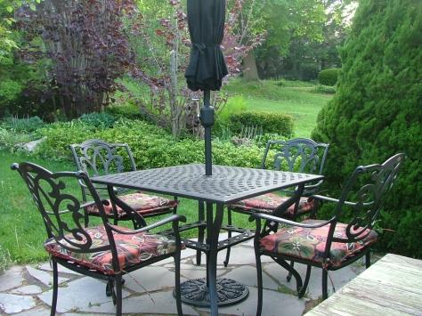New patio furniture!